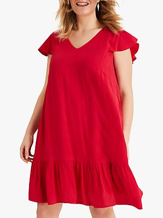 Studio 8 Malin Swing Dress, Red