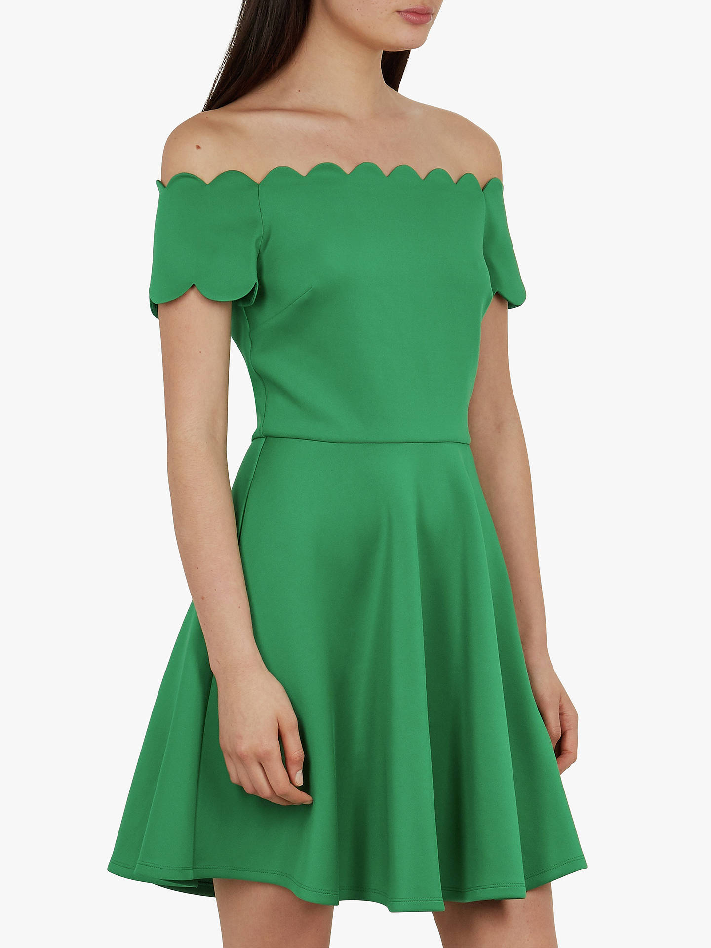521cb4fa6274 Buy Ted Baker Fellama Scalloped Bardot Skater Dress