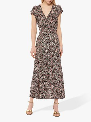 Gerard Darel Robe Dress, Black/Multi