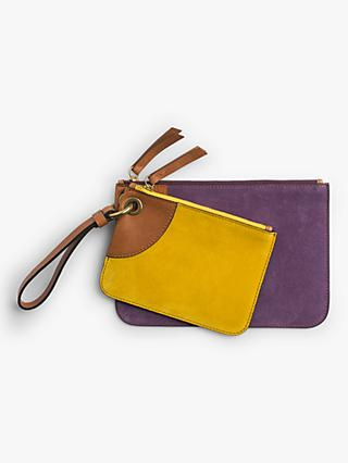Gerard Darel JJ Leather Pouch, Purple
