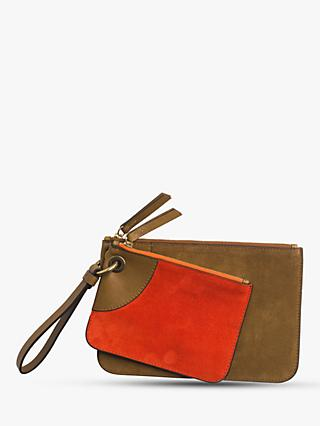 Gerard Darel JJ Leather Pouch