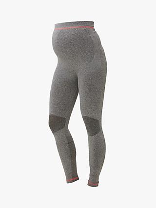 Mamalicious Fit Active Maternity Leggings, Grey
