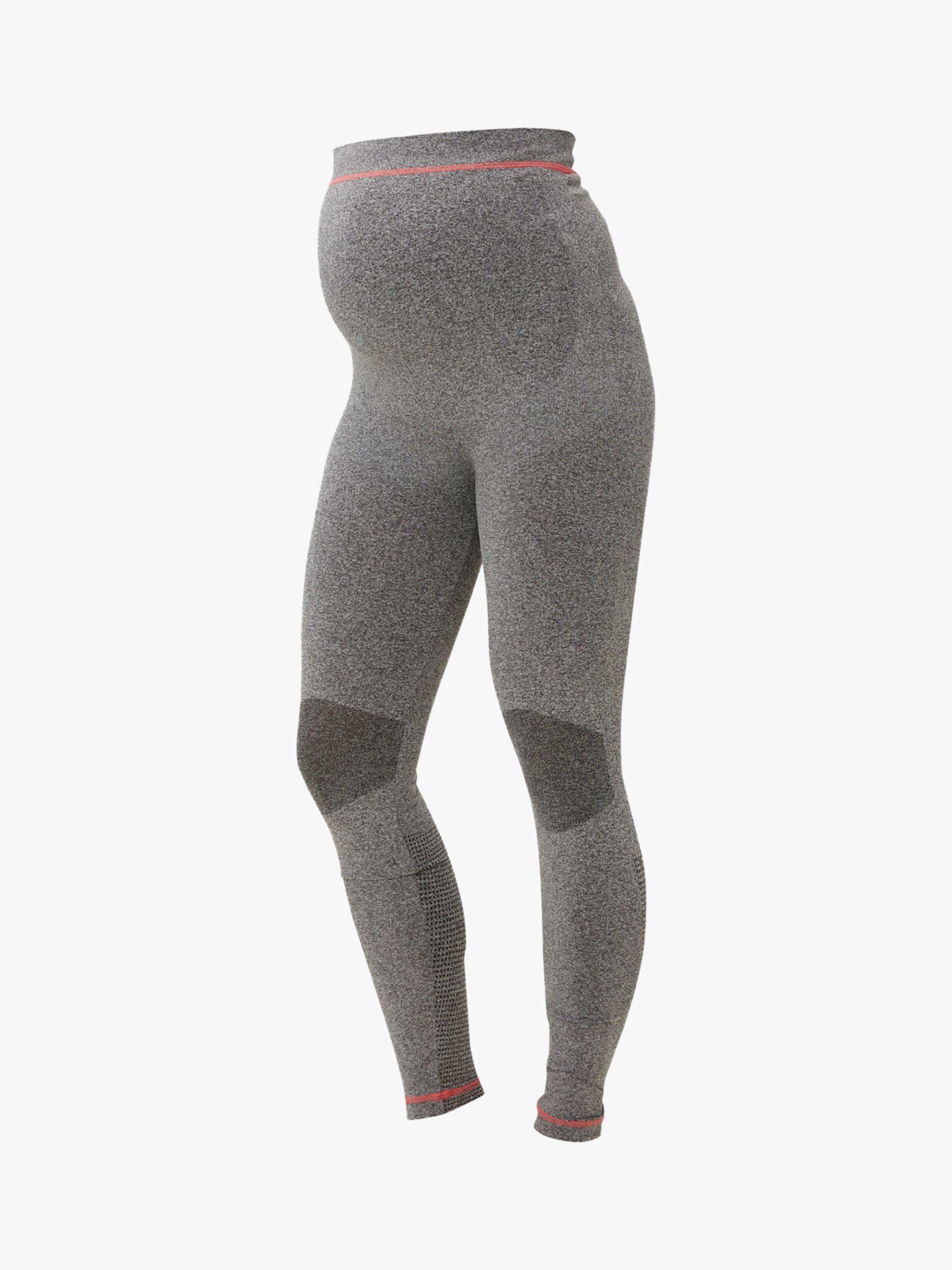 Mamalicious Mamalicious Fit Active Maternity Leggings, Grey