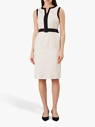 2b166386e56 Hobbs Alison Tailored Cotton Dress