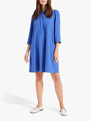 Phase Eight Bella Swing Dress, Lamp Blue