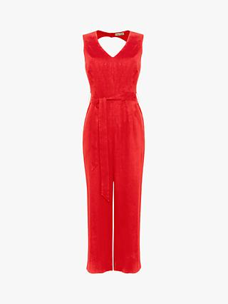 Phase Eight Jennie Jumpsuit, Red
