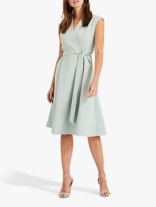 1261daffedf5 Phase Eight Joyce Belted Fit and Flare Dress, Peppermint