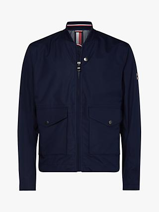 4ca93e01f3a6c Tommy Hilfiger Water Repellent Stretch Field Bomber Jacket, Navy