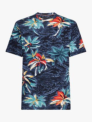 9b25477cc Tommy Hilfiger Allover Palm Print T-Shirt, AOP