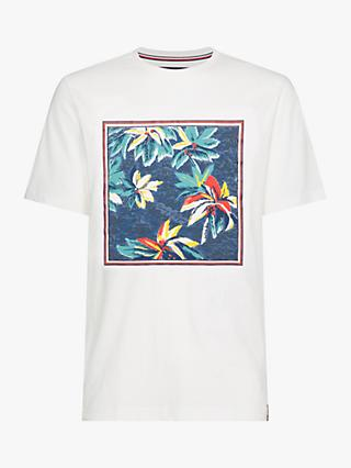 Tommy Hilfiger Print Applique T-Shirt, White