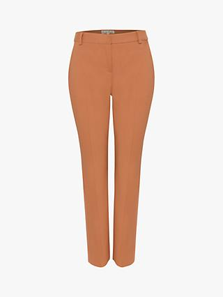 Phase Eight Bronwen Slim Leg Trousers, Caramel