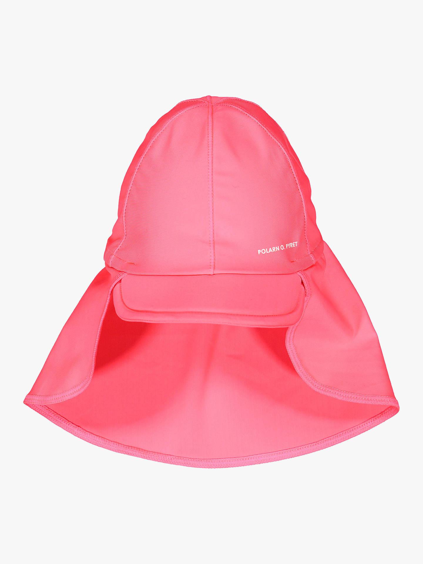 Polarn O  Pyret Baby Legionnaire Swim Hat, Pink