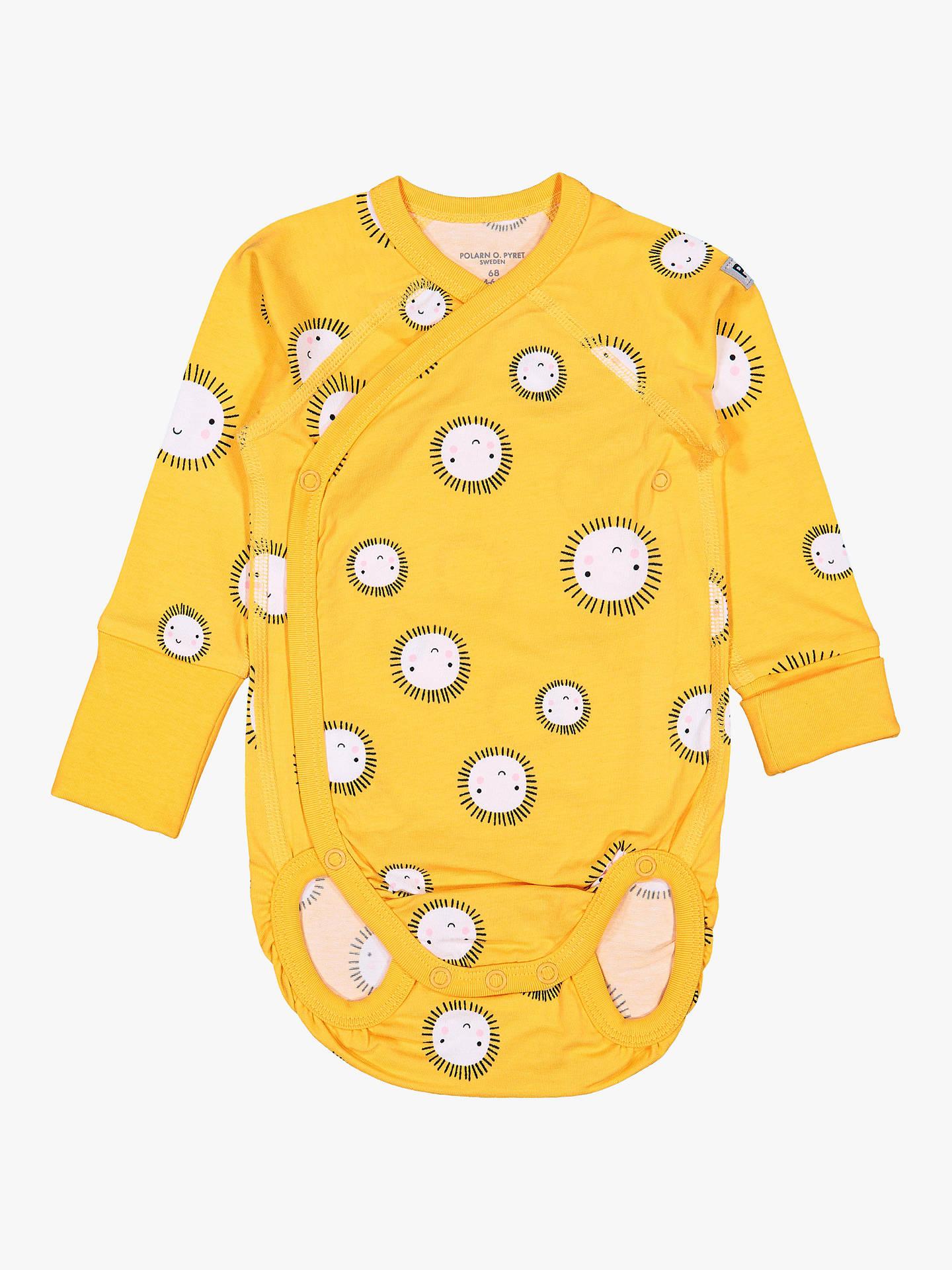05640a6b4 Polarn O. Pyret Baby Organic Cotton Sun Bodysuit