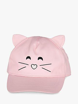 b0d7d4a7336bf Polarn O. Pyret Children s Cat Embroidery Baseball Cap