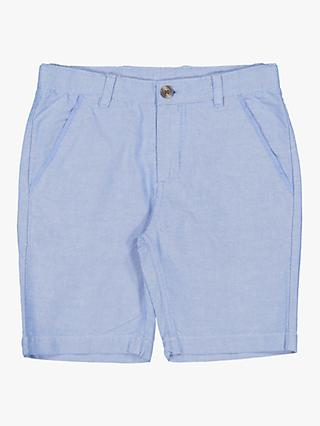Polarn O. Pyret Children's Smart Cotton Shorts, Blue