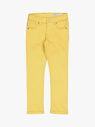 Polarn O. Pyret Children's Slim Fit Jeans, Yellow