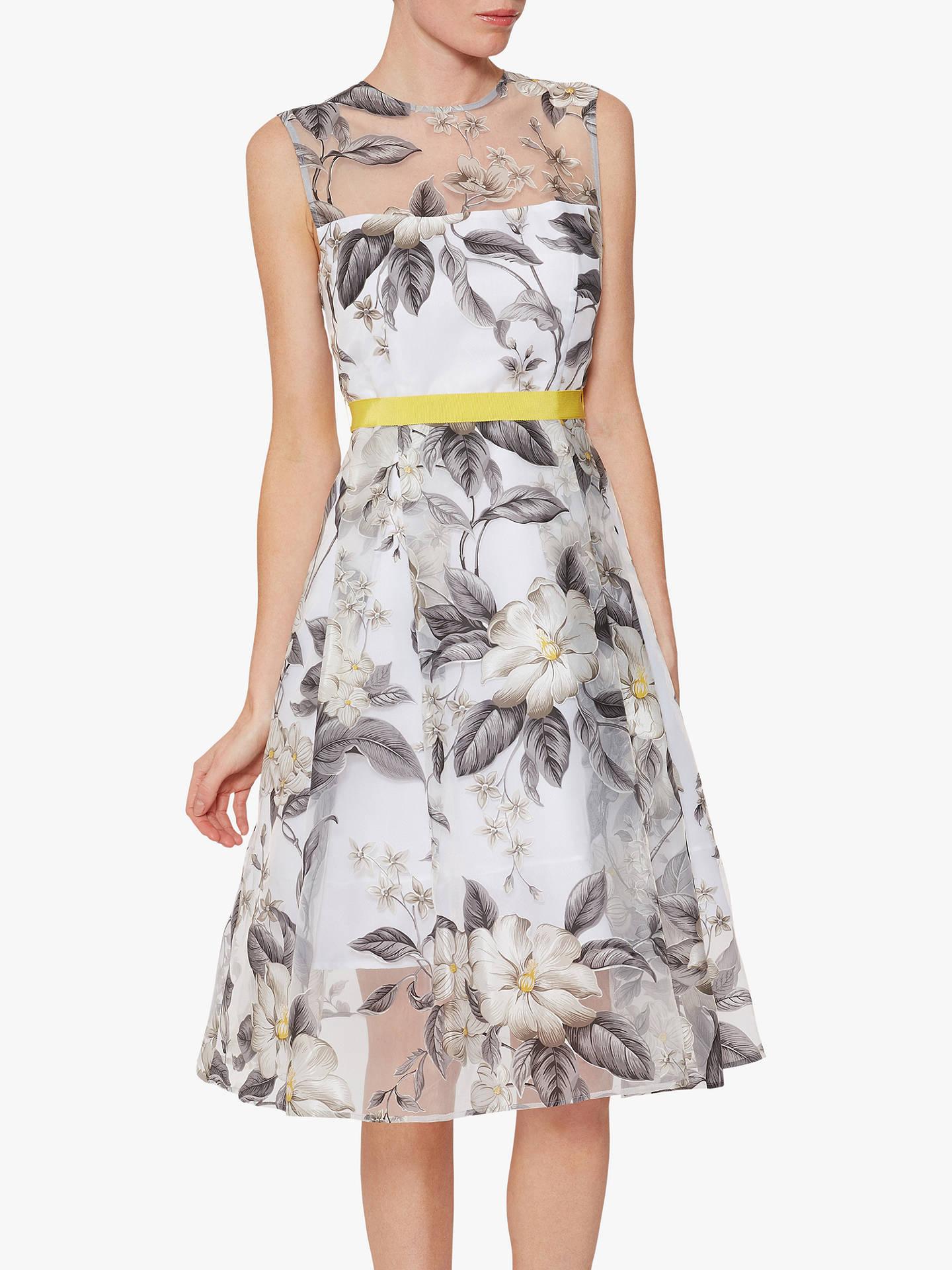 16955735406 Buy Gina Bacconi Fiora Floral Organza Occasion Dress
