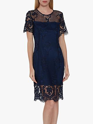 Gina Bacconi Luzetta Floral Lace Dress