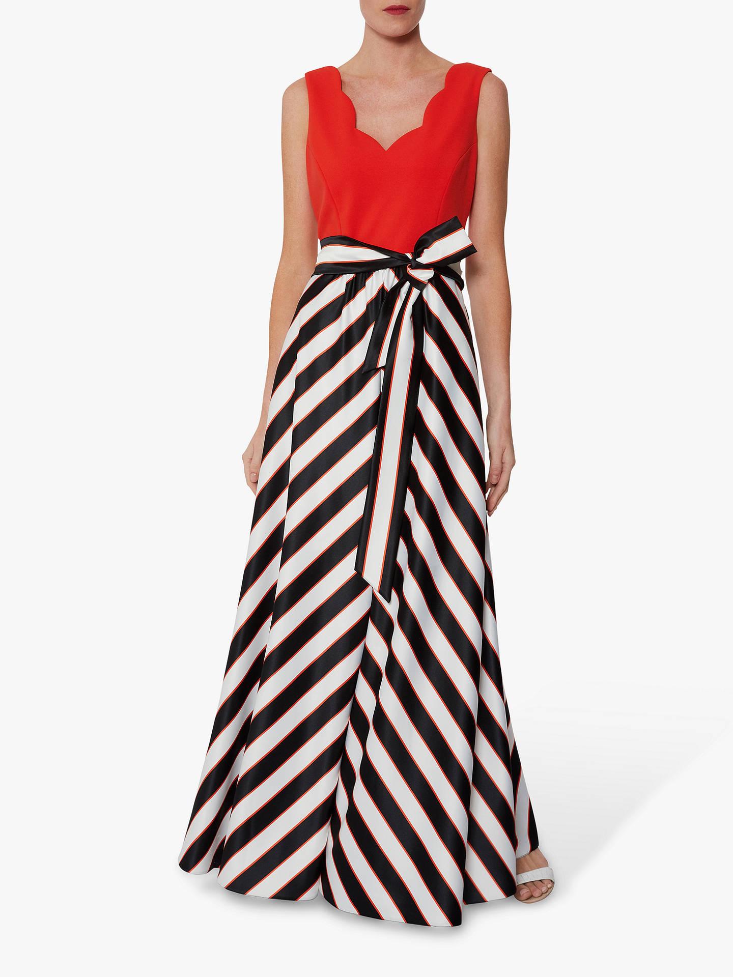 240e450b4d1 Gina Bacconi Tiegan Satin Dress at John Lewis   Partners