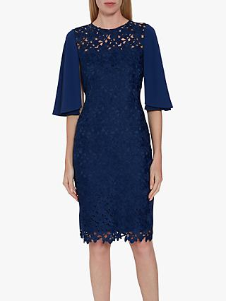Gina Bacconi Beth Guipure Lace Dress