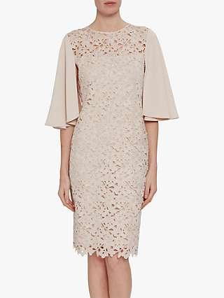 Gina Bacconi Beth Guipure Lace Dress