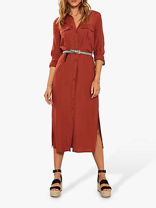 c9513e758f9 Mint Velvet Belted Shirt Dress