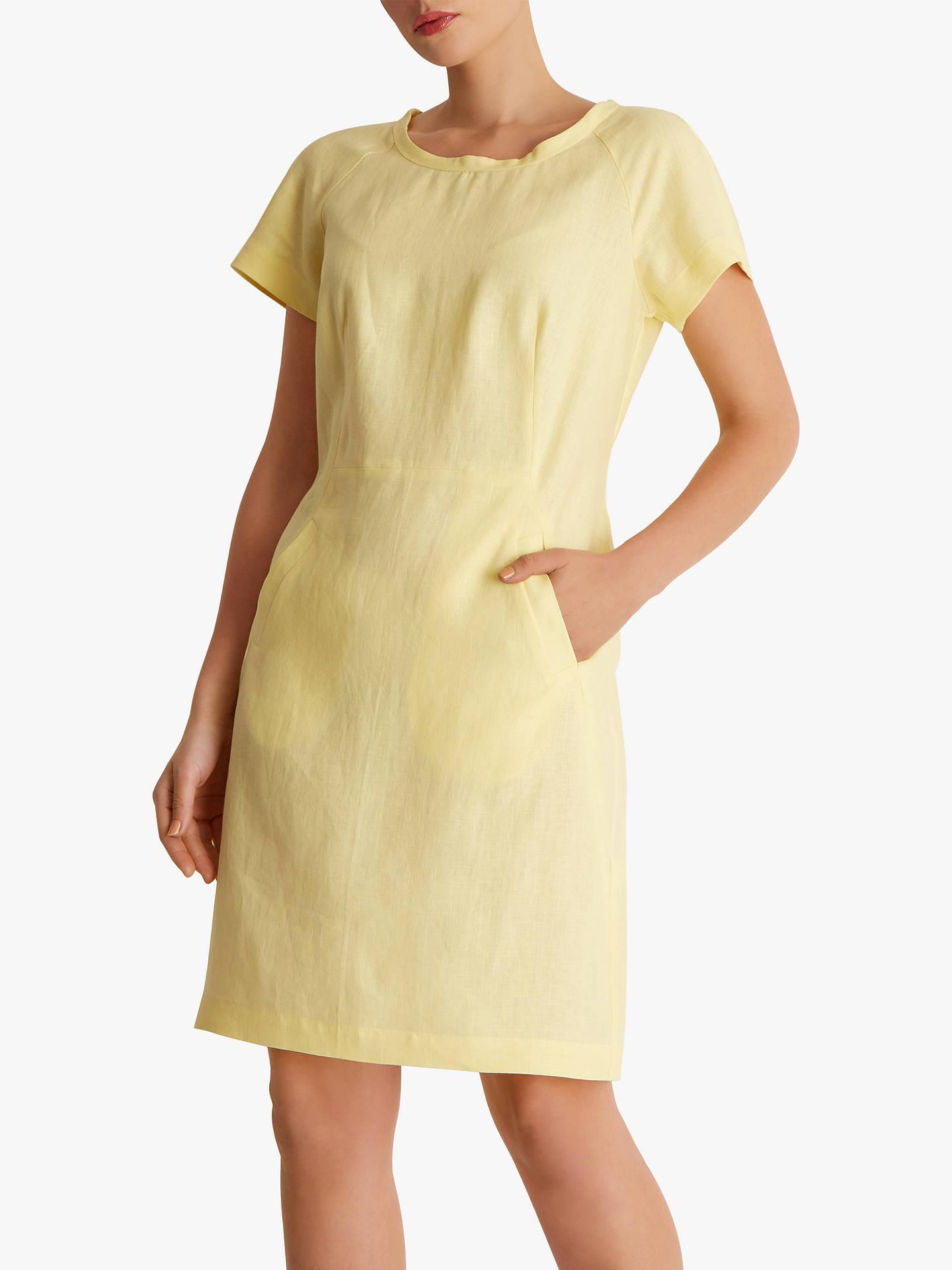 Fenn Wright Manson Santorini Linen Dress, Lemon
