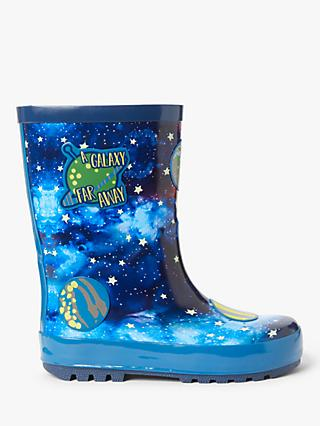 John Lewis & Partners Children's Space Wellington Boots