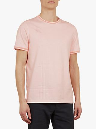 7c19d13f Ted Baker Geckoe Geometric Print Short Sleeve T-Shirt