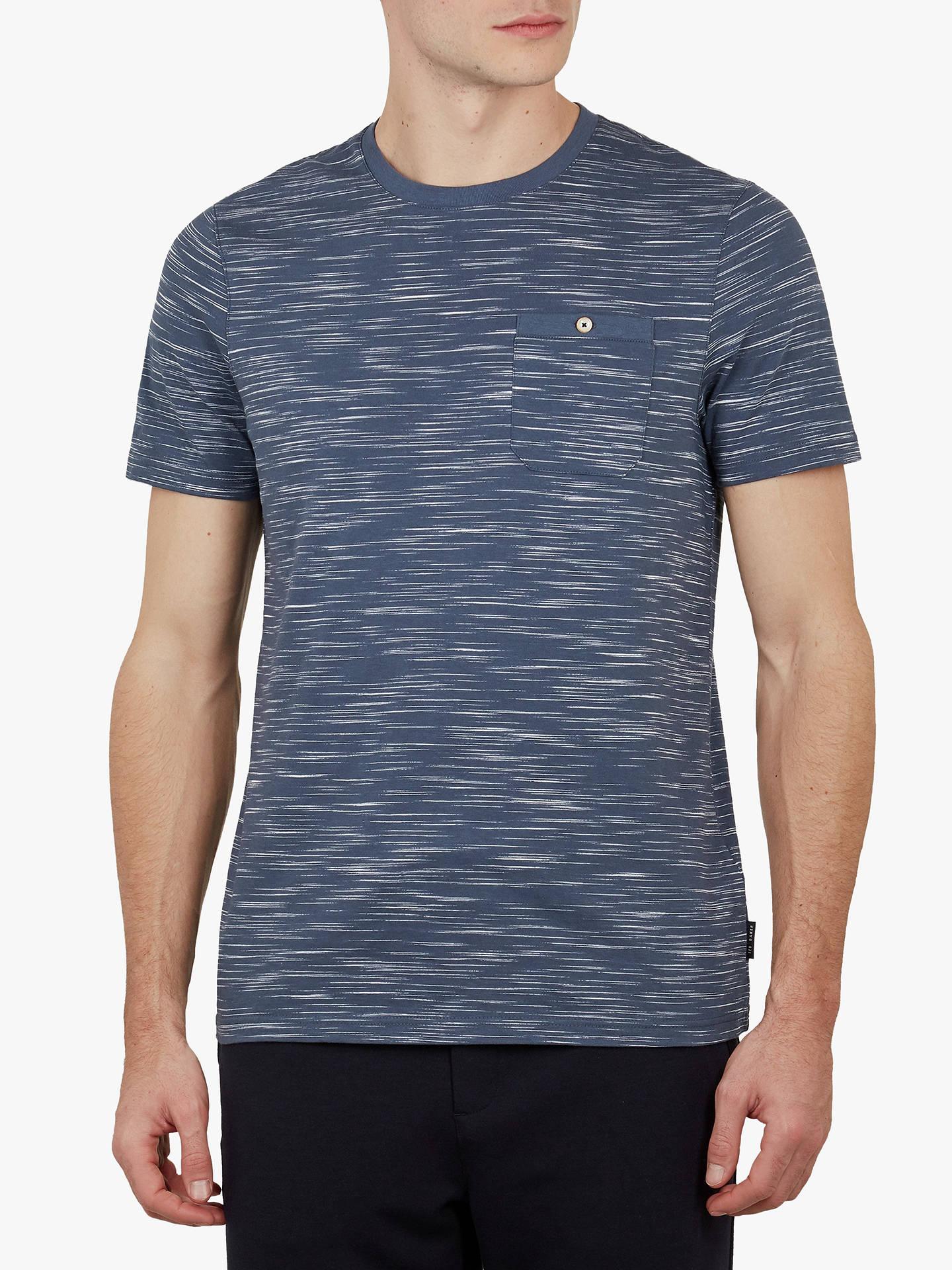 489e9f215 Ted Baker Skales Slub Cotton T-Shirt at John Lewis   Partners