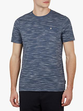 Ted Baker Skales Slub Cotton T-Shirt