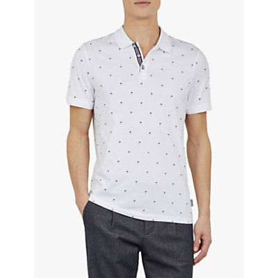 Ted Baker Tuka Printed Polo Shirt
