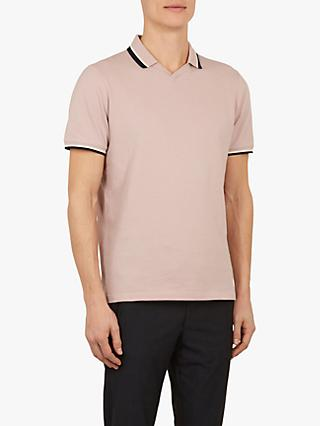 4289ecca56df98 Ted Baker Zebraz Flat Knit Polo Shirt