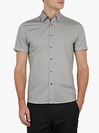 c0fd2c1f4e1e3f Ted Baker Mongoo Short Sleeve Spot Print Shirt