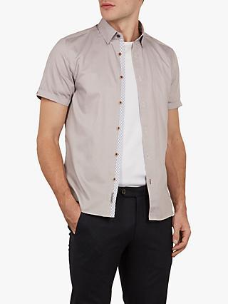 1fbf80a302a8fd Ted Baker Mongoo Short Sleeve Spot Print Shirt