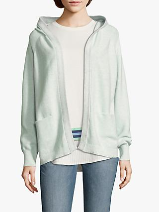 Betty & Co. Hooded Open Cardigan, Beryl Green