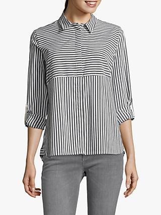 Betty & Co. Striped Shirt, White/Blue
