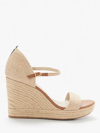 Boden Lily Espadrille Wedges, Natural