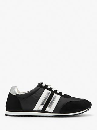 Boden Striped Trainers, Black