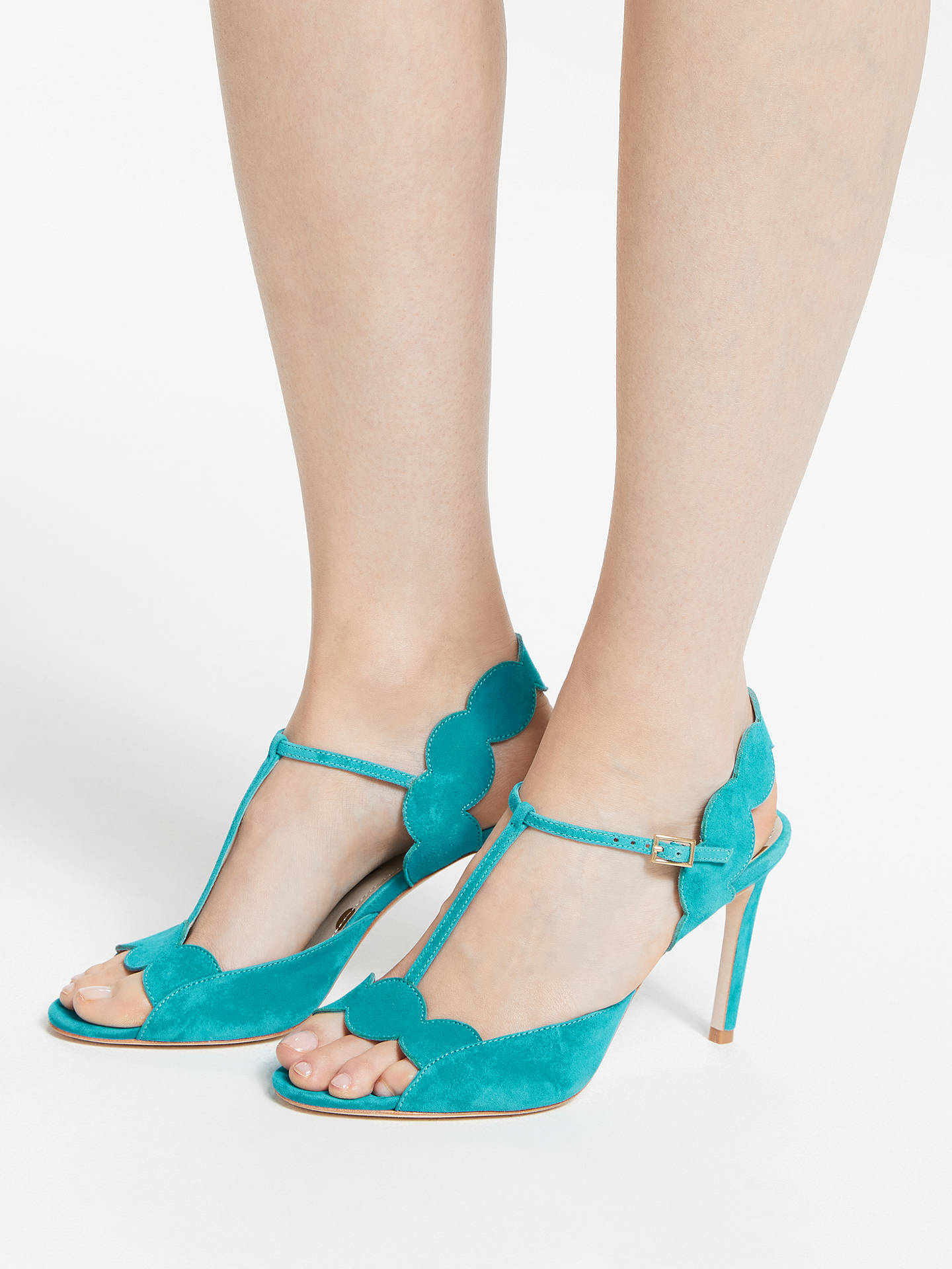 4b8131ee39cc Boden Cecile T-Bar Heeled Sandals at John Lewis   Partners