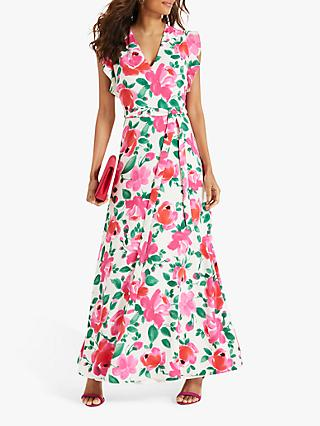 Phase Eight Rosita Printed Maxi Dress, Multi