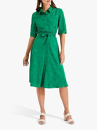 Phase Eight Keris Shirt Dress, Green