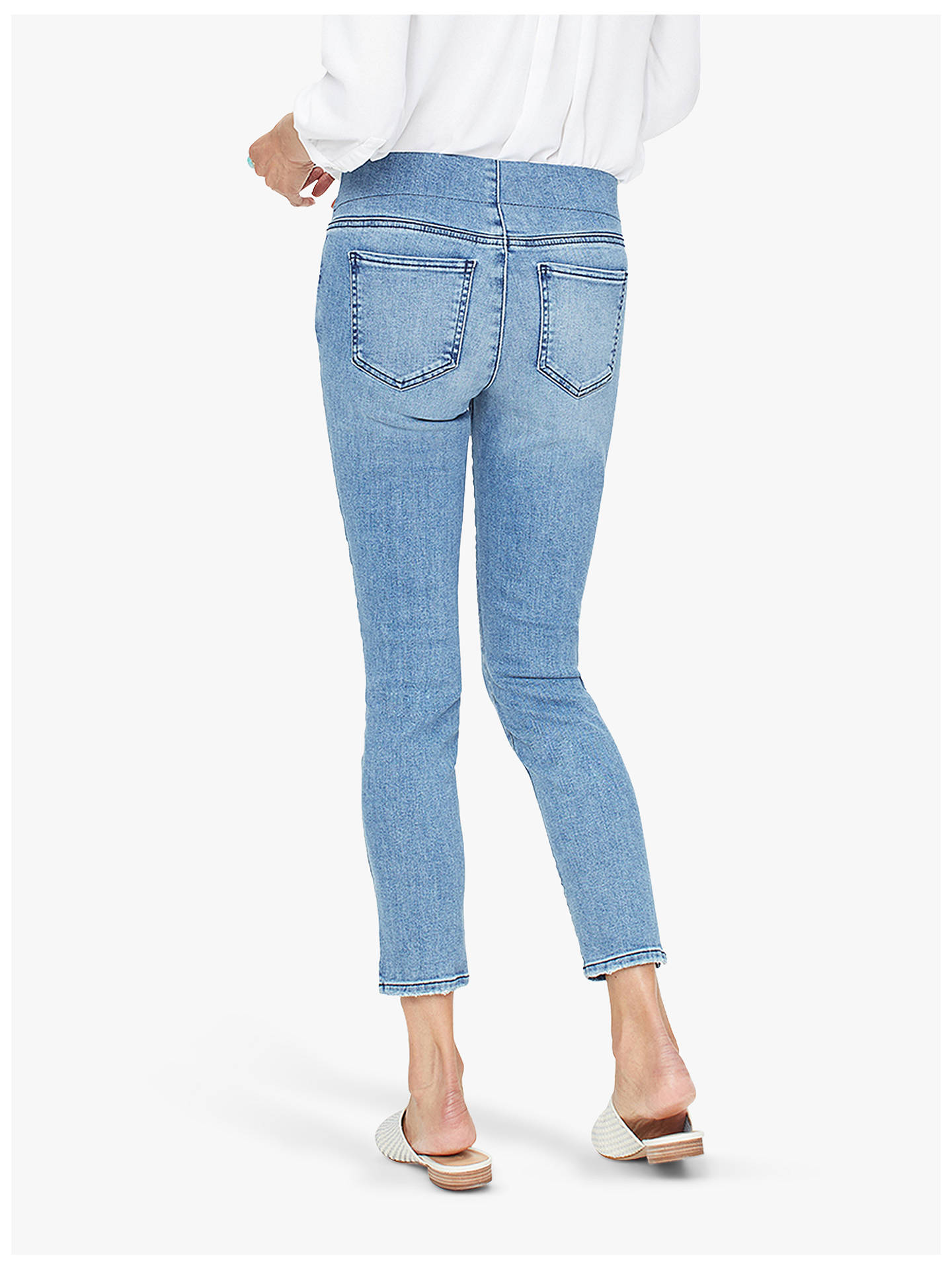Buy NYDJ Skinny Ankle Pull-On Jeans, Aquino, 14 Online at johnlewis.com