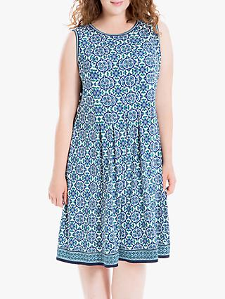 55001aa11f8 Max Studio + Sleeveless Printed Jersey Dress
