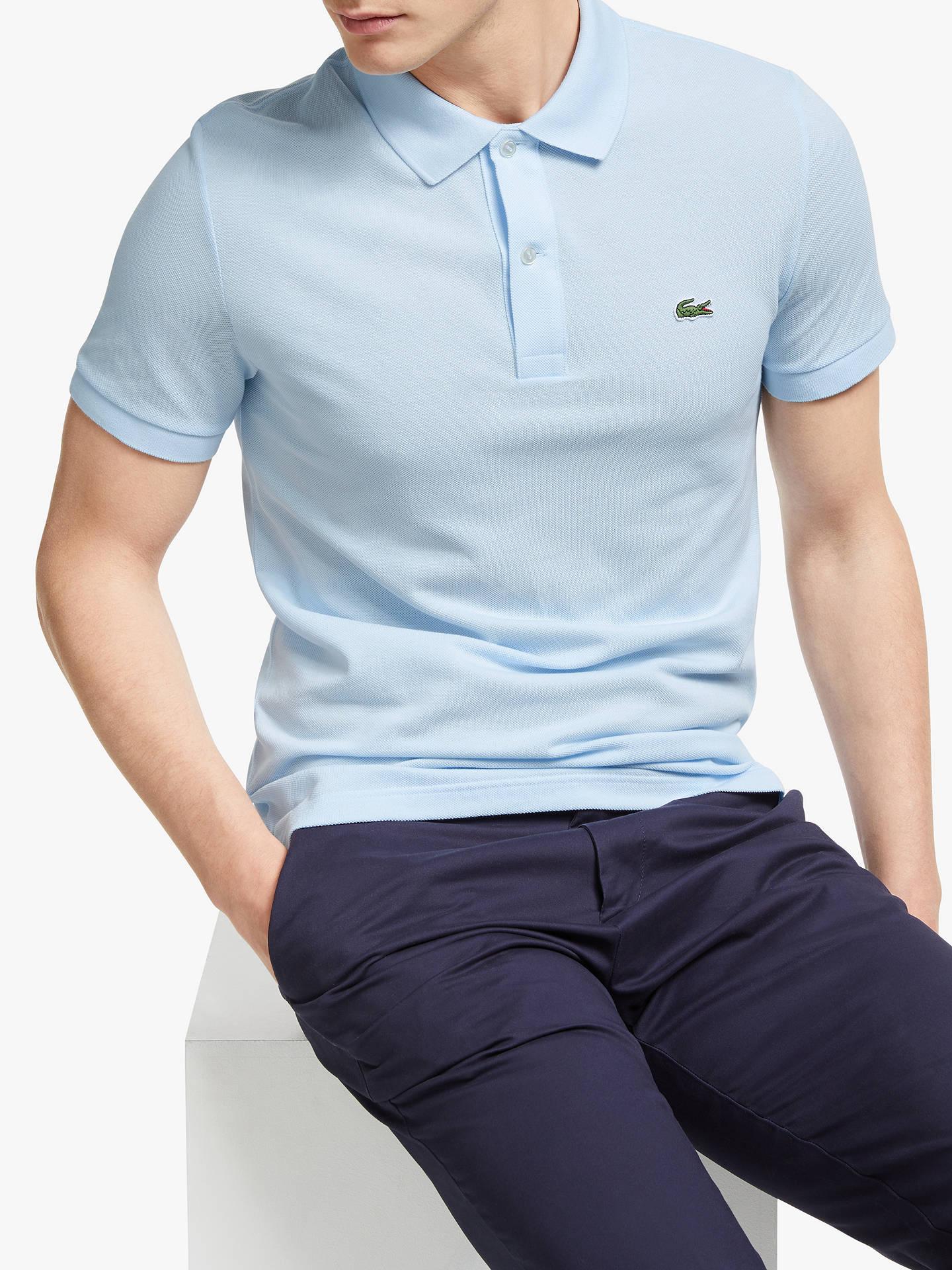 ce395ccea1 Lacoste Classic Slim Fit Short Sleeve Polo Shirt, Ruisseau
