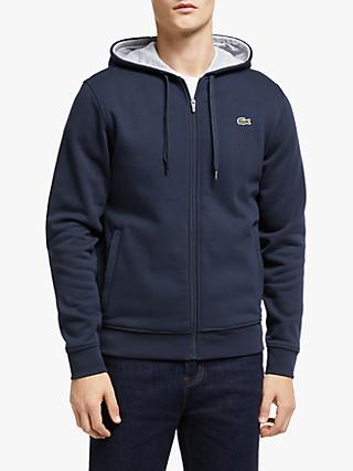 Lacoste Classic Zip Through Hoodie