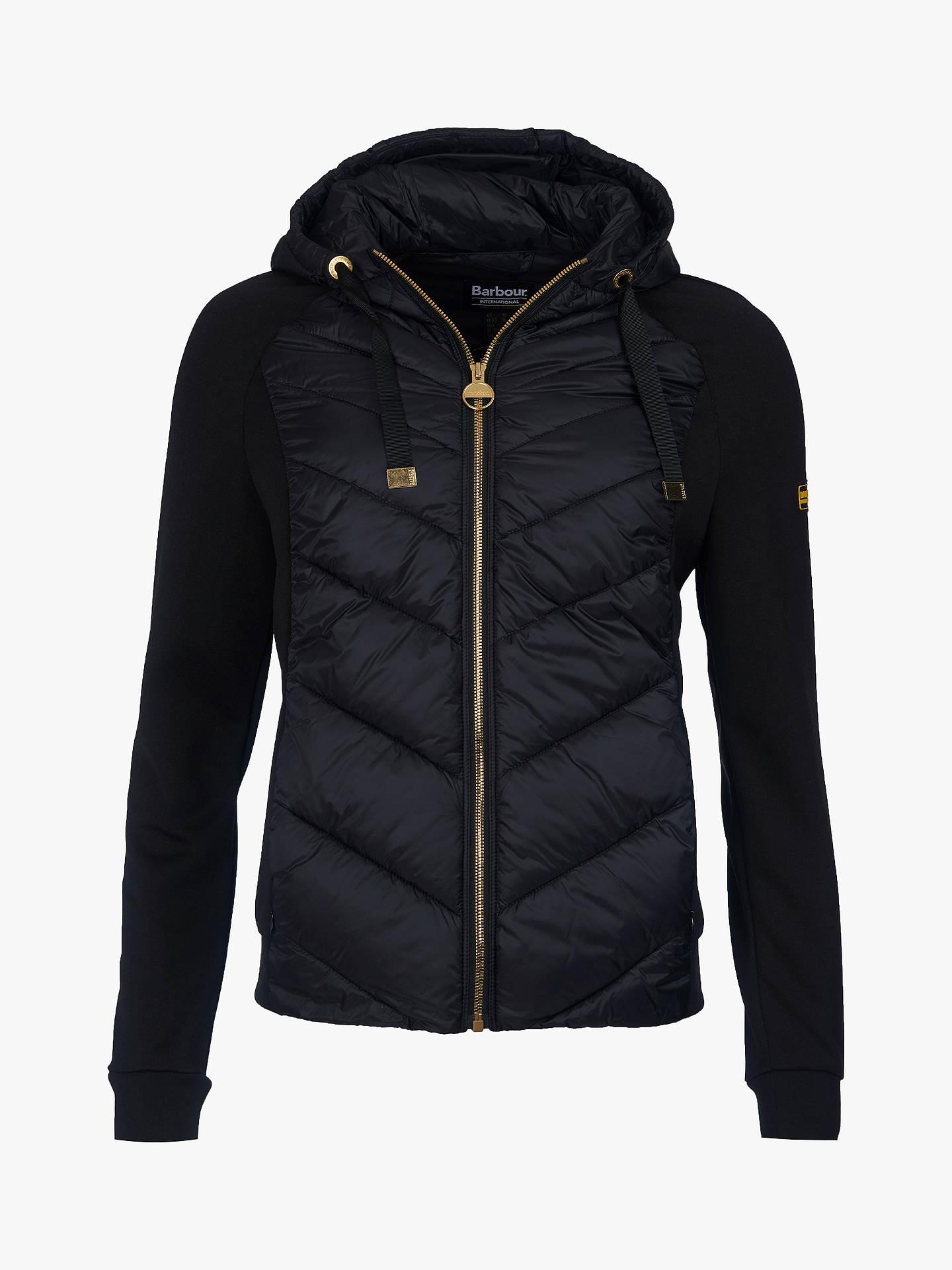 db4e54ee7 Barbour International Engleberg Quilted Sweat Jacket, Black