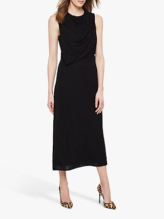 Damsel in a Dress Adaryn Cowl Neck Maxi Dress, Black
