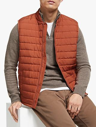 John Lewis & Partners Shower Resistant Recycled Quilted Gilet