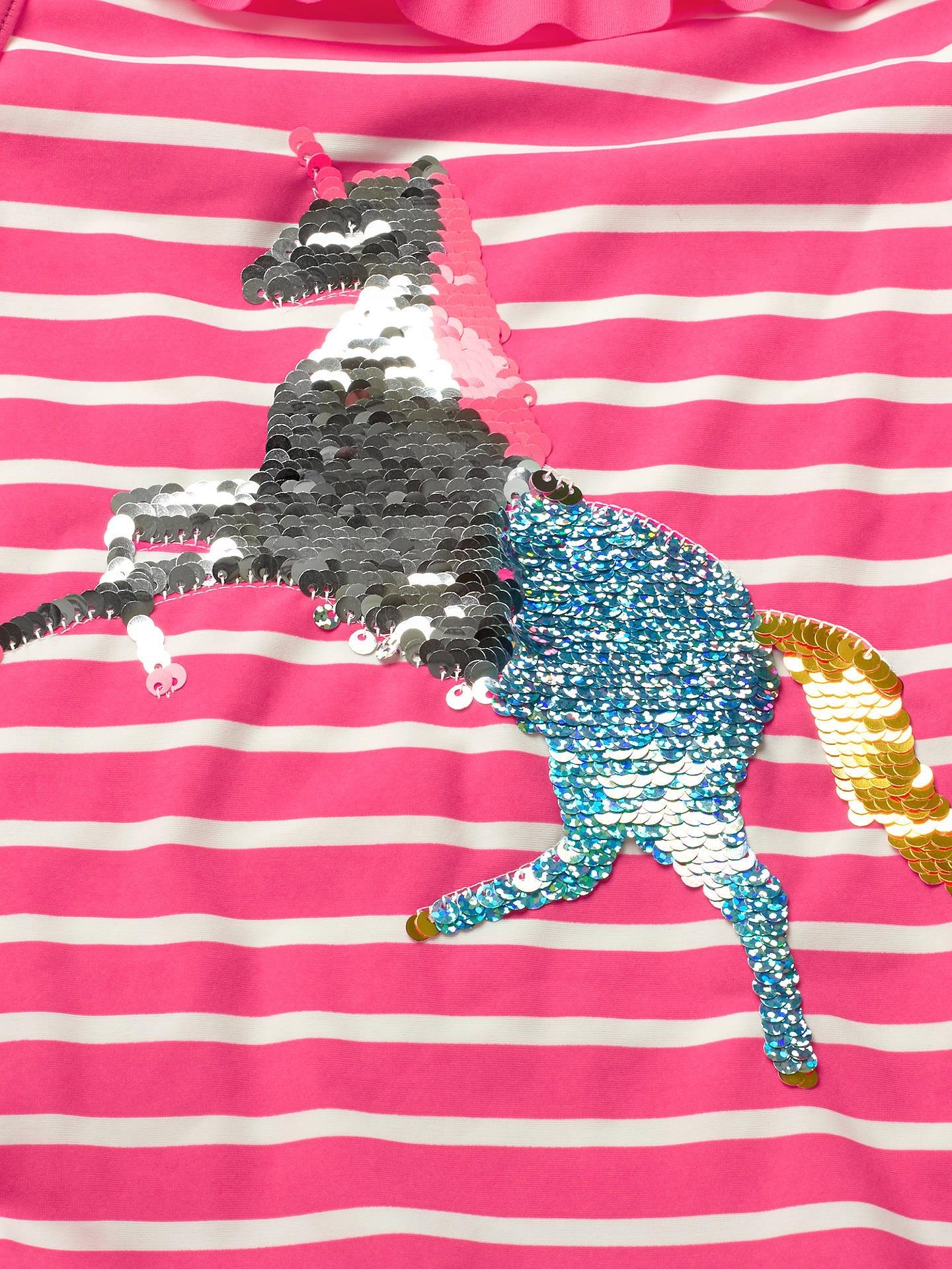 c8e595515320c ... Buy Mini Boden Girls' Unicorn Applique Swimsuit, Pink, 11-12 years  Online